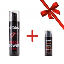 Mega Power Anal + GRATIS Relax 100 % Power Concentrated