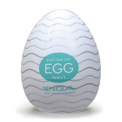 "Masturbation-Egg ""Wavy"" (1er) by TENGA"