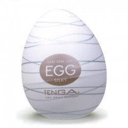 "Masturbation-Egg ""Silky"" (1er) by TENGA"
