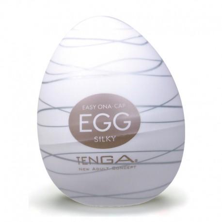 "Masturbation-Egg ""Silky"" by TENGA"