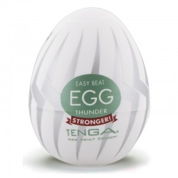 "Masturbation-Egg ""Thunder"" by TENGA"