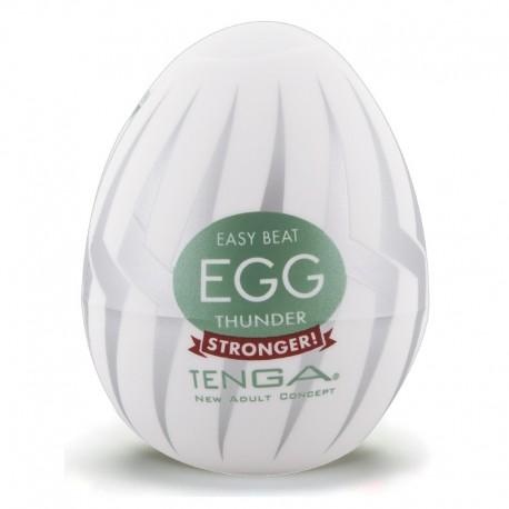 "Masturbation-Egg ""Thunder"" by TENGA"